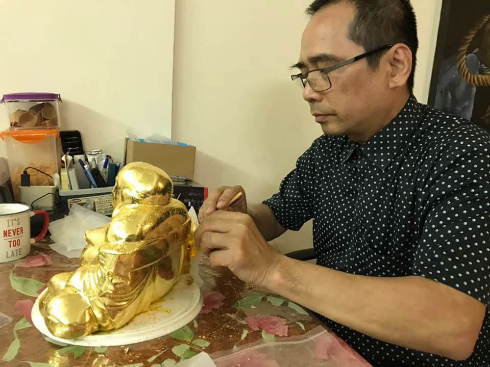tai thong Gold Leaf Effect1